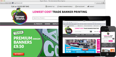 Banner World - low cost Banner Printing